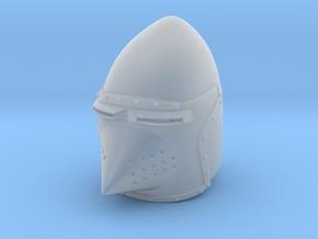 Hounskull Bascinet (Full) in Smooth Fine Detail Plastic: Small