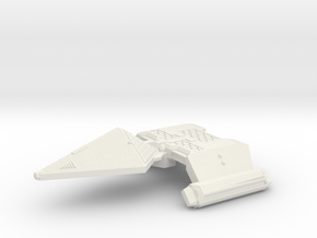 3788 Scale Neo-Tholian Light Cruiser (NCL) SRZ in White Natural Versatile Plastic