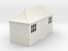 z-55-gwr-pagoda-shed-1 in White Natural Versatile Plastic