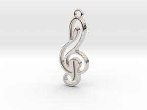 Negative space key note in Platinum