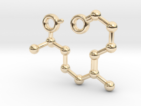 Mahonial in 14k Gold Plated Brass