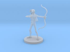 Skeleton Archer in Smooth Fine Detail Plastic
