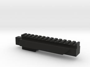 LCT SR-3M Bottom Rail in Black Natural Versatile Plastic