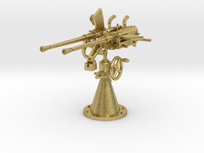 1/48 DKM 20mm C30 double flak (Brass) in Natural Brass