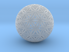 Shrink Wrapped Orb of life in Smooth Fine Detail Plastic
