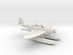 1/87 IJN Aichi E13A1 'Jake' Type 0 Reconnaissance  in White Natural Versatile Plastic