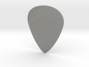 Game of Thrones Stark Guitar Pick Double Sided in Gray Professional Plastic