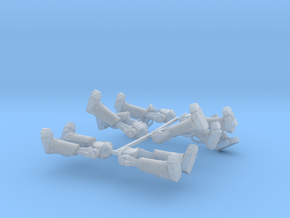 Metal Marine Bionic Legs x6 in Smooth Fine Detail Plastic