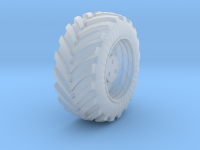 front wheel 1 in Smooth Fine Detail Plastic