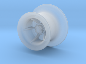 warping head2 for anchor winch_Spillkopf Ankerwind in Smooth Fine Detail Plastic: 1:50