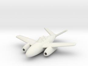 (1:144) Messerschmitt Me P 1092/D in White Natural Versatile Plastic