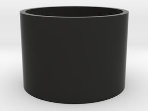"""1"""" MR-Hasbro Yoda blade plug part-1 in Black Premium Versatile Plastic"""