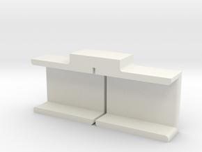 MNub Slicer in White Natural Versatile Plastic