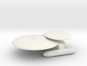 Apollo Class Science Vessel  in White Natural Versatile Plastic