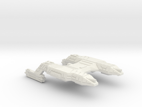 3125 Scale Lyran Refitted Saber-Tooth Tiger CVN in White Natural Versatile Plastic