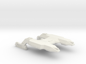 3788 Scale Lyran Saber-Tooth Tiger Mauler Cruiser in White Natural Versatile Plastic