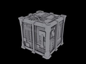 Cyborg Scout Cube V2 1/2500 Scale in Smooth Fine Detail Plastic