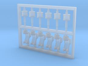 6 Stück Blitzboje Typ-B mit Halter in 1:75 in Smoothest Fine Detail Plastic