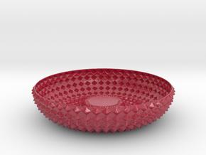 Bowl GRNT1010 in Glossy Full Color Sandstone