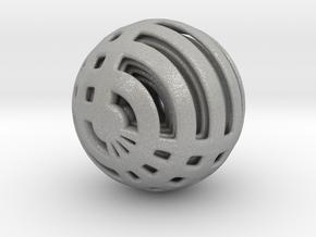 Looped Arrayed Sphere in Aluminum
