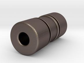 TTstd083X in Polished Bronzed-Silver Steel