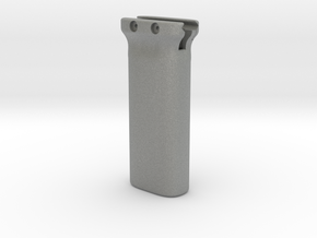 Magpul-style battery holder fore grip for Picatinn in Gray Professional Plastic