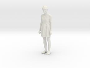 Printle C Femme 647 - 1/32 - wob in White Natural Versatile Plastic
