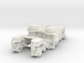 ICR bogie side  Scale 0 (1:45) in White Natural Versatile Plastic