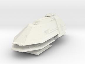 1/3900 Gorn BH2 Battleship in White Natural Versatile Plastic