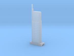 Comcast Technology Center in Smooth Fine Detail Plastic