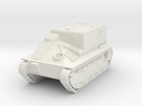 Medium Mk2 box  1:87 in White Natural Versatile Plastic