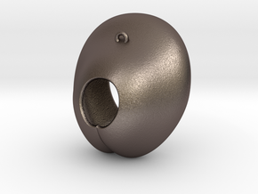Electrode Customized 01 in Polished Bronzed-Silver Steel