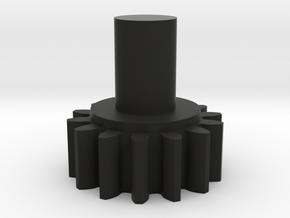 Coupling Gear in Black Natural Versatile Plastic
