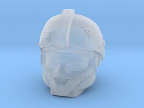 Expanse Mars Marine Helmet 28mm scale in Smoothest Fine Detail Plastic