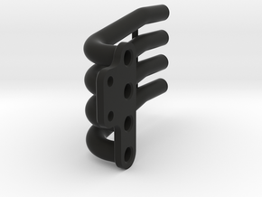 Taurus headers - Right - +4mm in Black Natural Versatile Plastic