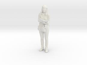 Printle C Femme 699 - 1/32 - wob in White Natural Versatile Plastic