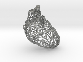 Lattice heart in Gray Professional Plastic