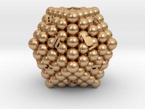 D20 Balanced - Balls (Smooth) in Natural Bronze