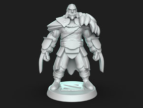Dota2 Lycan in White Natural Versatile Plastic