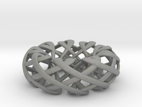 Counter rotating Torus with Celtic knots in Gray Professional Plastic