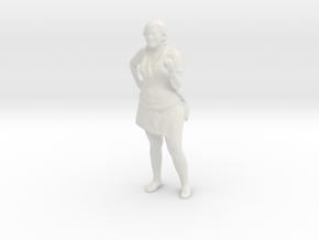 Printle C Femme 709 - 1/32 - wob in White Natural Versatile Plastic