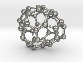 0692 Fullerene c44-64 c1 in Natural Silver