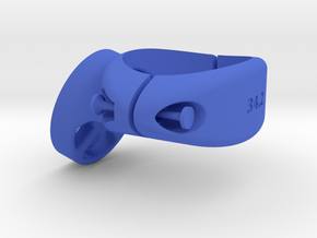 34.2 Garmin Varia / Edge Mount in Blue Processed Versatile Plastic