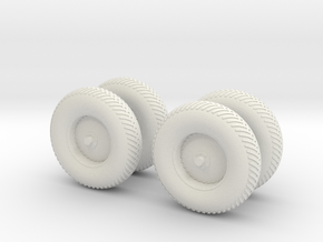 A15 To 17-MP-Wheels in White Natural Versatile Plastic