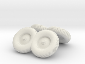 A15 To 17-Folded Wheels in White Natural Versatile Plastic