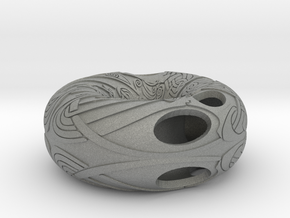 Celtic Knot on torus in Gray Professional Plastic