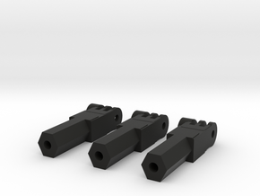 3-Tall-GoPro-Fusion-Tripod-Mount-1_4-20-screw-thre in Black Natural Versatile Plastic