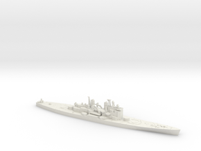 1/600 HMS Vanguard in White Natural Versatile Plastic