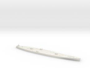 1/600 HMS Vanguard hull in White Natural Versatile Plastic