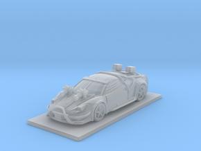 Ferrari Performance Car in Smooth Fine Detail Plastic